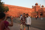 Stealing the Red Fort's thunder.