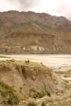 Satluj River (waaay) below Dhankar