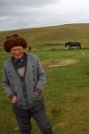 Old Kyrgyz Nomad Guy