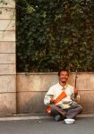 Blind Street Musician, Shanghai