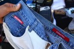 DickCowboy brand chap jeans