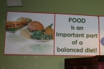 FOOD: an important part of a balanced diet!